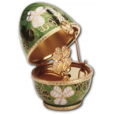 "Яйцо ""Клевер"" FABERGE"